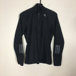 Adidas Black Energy Running Zip Up Jacket